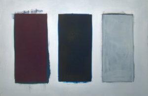 Triptych, oil on canvas, 80x120cm